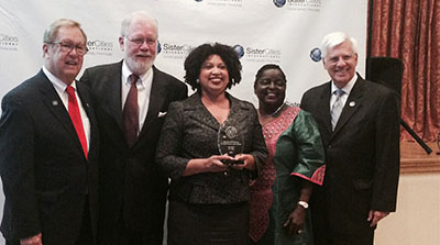 Birmingham was the only city to receive two first place awards at the Annual Sister Cities International Convention