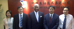 Mayor William Bell and Scotty Colson represented Birmingham in China